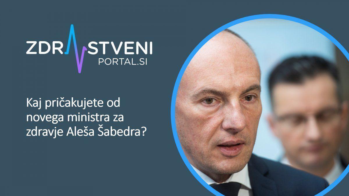 Ales Sabeder, minister za zdravje - pobude bralcev